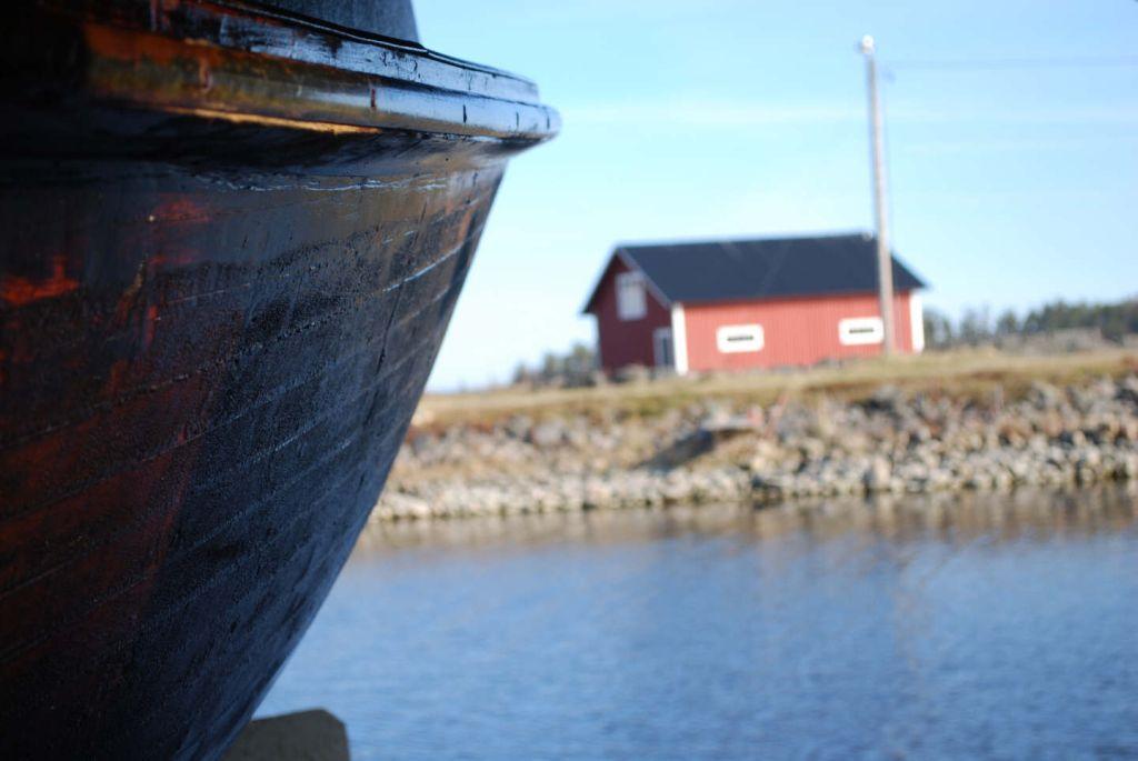Båten klar för sjösättning 30/4