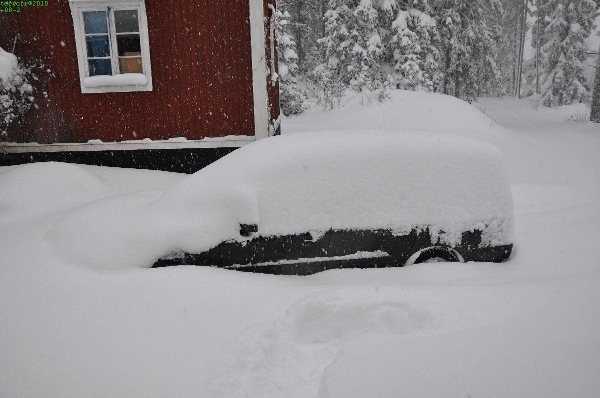 Bilen finns där någonstans
