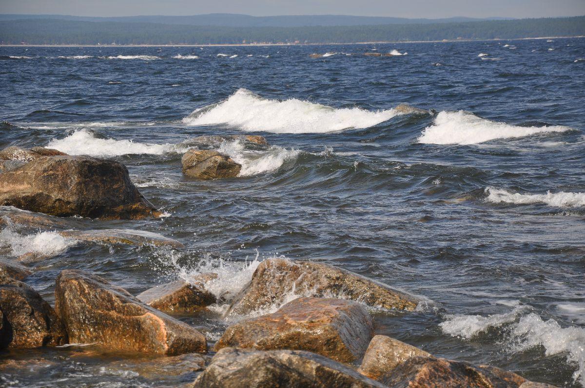 110729 Vågor på nordostudden